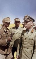 Rommel with reporter by KraljAleksandar