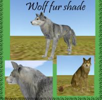 FH wolf fur shade (WITHOUT VISIBLE EDGES) by wolf-NaKomis