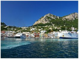 Italy - Arriving at Capri by AgiVega