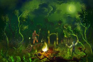 Voodoo Swamp by Ronamis