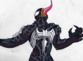 Venom from Spider-Man 3 by ChahlesXavier
