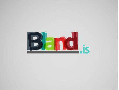 bland.is logo by ridhogillang