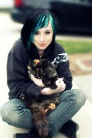 Ginger and I. by PhotograpgyAccount