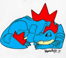 feraligatr color by hensome