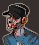 TF2 - Zombie Scout by SuperKusoKao