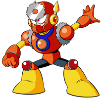 HD Metal Man Sprite by JusteDesserts
