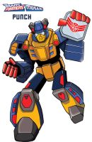 Transformers animated Punch by ninjha