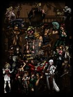 Steampunk Tarot Poster by TheBlindProphetess