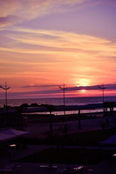 Black Sea Sunset 2 by CHARGERLEVANI