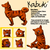 Kabuki- FP Kennel Roleplay by Tzadike