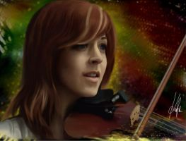 Lindsey Stirling Eccentricity by Azargo93