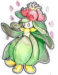 Lilligant by darkraifangirl