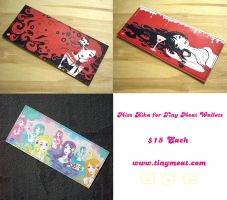 Tiny Meat Wallets by Blush-Art