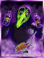 Mtn Dew Pitch Black poster by spdy4