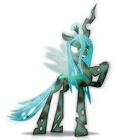 Crystal Queen_chrysalis by Rariedash