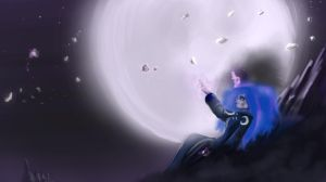 Fixing a broken moon. by AtomicWarpin