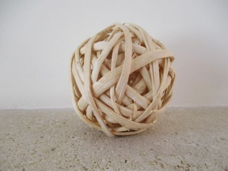 Wooden Ball by SlichoArt