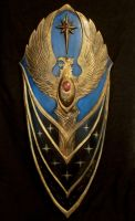 Warhammer Highelven shield by BloodworxSander