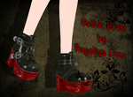 Gothic boots by Angelica-Lime