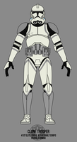 Clone Trooper - 41st Elite Corps by BCMatsuyama