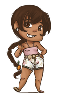 Floral -chibi contest entry- by Alexander-Rowe