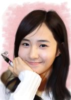 Painting SNSD Yuri by aimgallagher