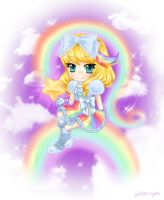 Rainbow Girl by HiroPonLover