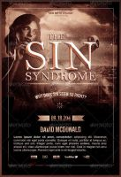 The Sin Syndrome Church Flyer Template by loswl