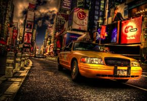 Taxi Newyork HDR by TonistL