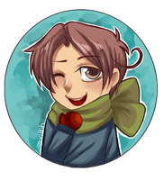 Italy button by amarilloh