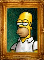 Homer Portrait by VegasMike