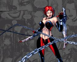 BloodRayne_WPV3_Chains_Sketch by Troilus