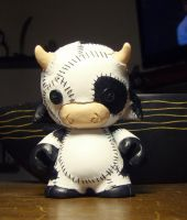 Stitched Cow by mesmithy