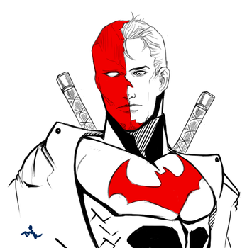Redhood(Jason Todd) by TheDeok
