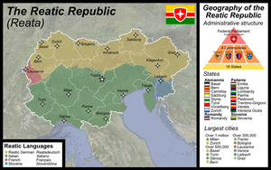 Map of the Reatic Republic by Martin23230