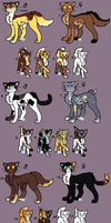 Adoptables 30 CLOSED by hinanamis