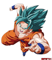SSGSSJ Goku Vector by Brinx-dragonball