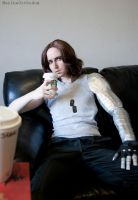 COSPLAY - Winter Soldier - Starbucks II by MarineOrthodox