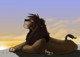 Birthday Gift For MaskedLion by Rogue-Lgr