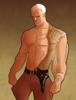 adam hughes doc savage by mikeorion22