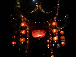 Chinese Lanterns Architecture4 by Angel-Cherry
