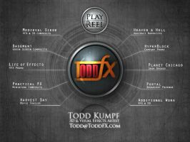 ToddFX Portfolio DVD Interface by todd587
