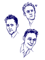 A Study in Hiddleston by pai-draws