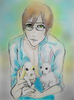 Alan in the Sky with Rabbits by Gala-maia