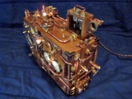 Steampunk Clock 1(2) by dkart71