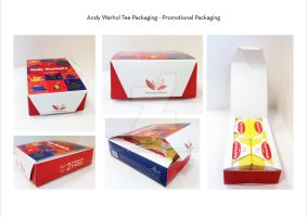 Andy Warhol Inspired Tea Packaging by Ihtaver