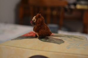Needle Felted Bidoof by feltieflaffy