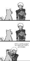 Fenris is a dog elf by ryuchan