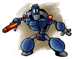 Soldier Blue by gsilverfish