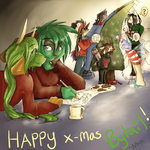 .Bytails.Christmas. by nikoo